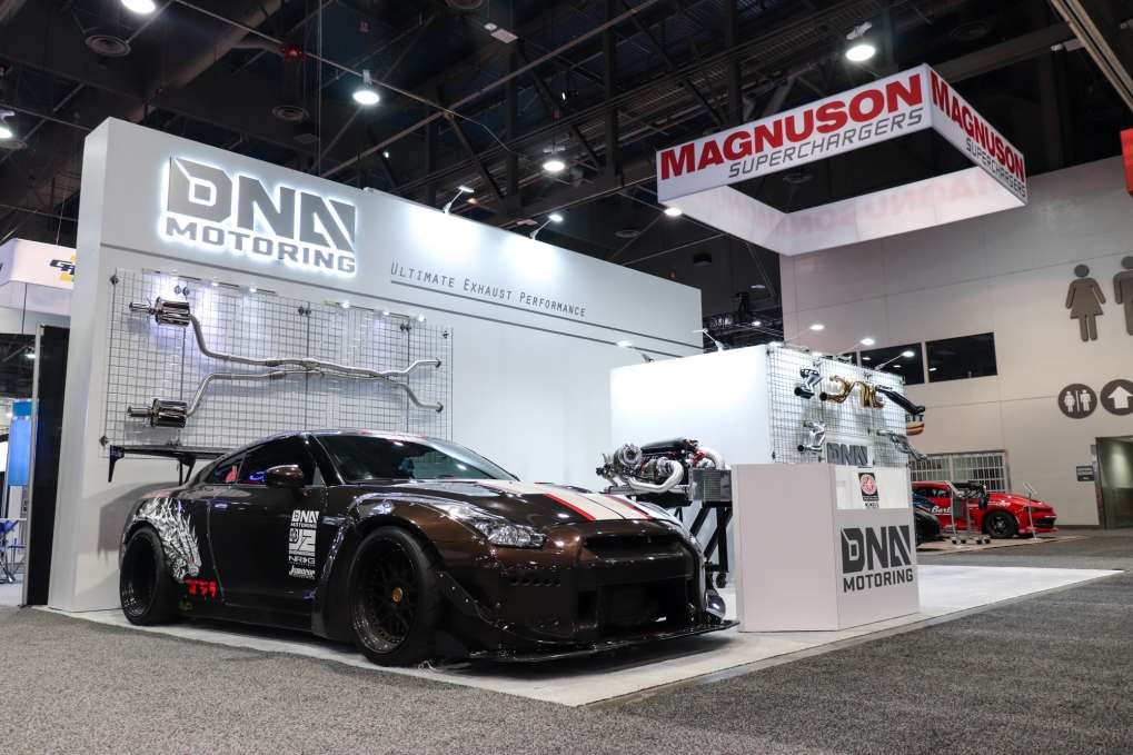 DNA Motoring & Ark Performance at SEMA 2018