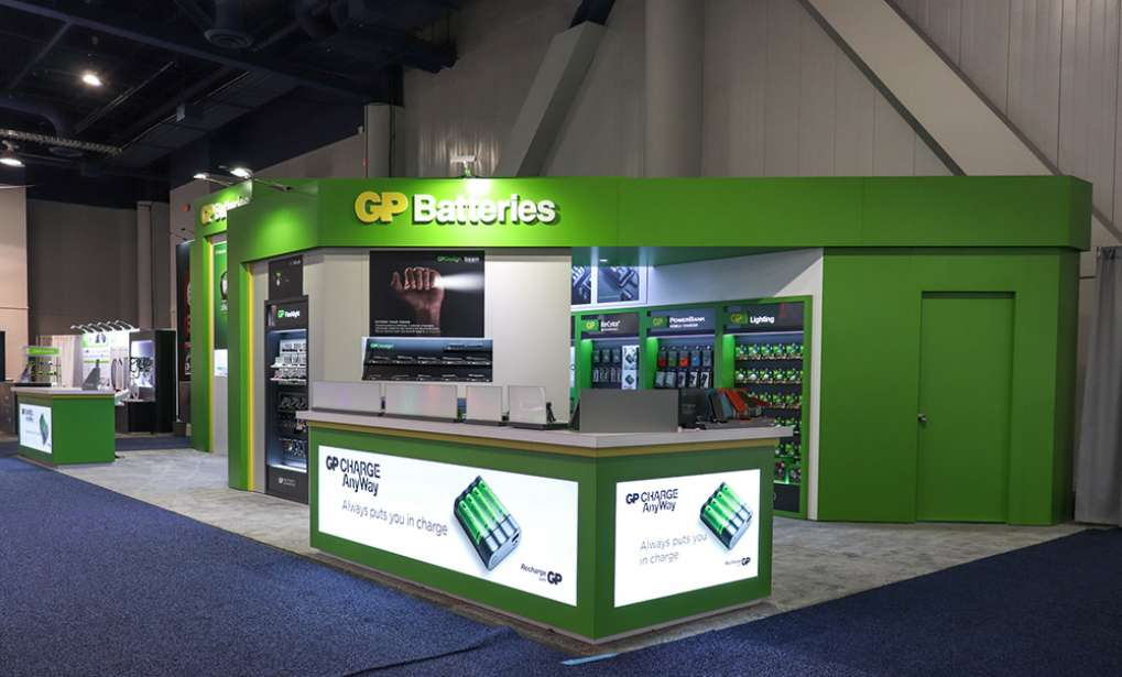 GP Batteries at CES 2019