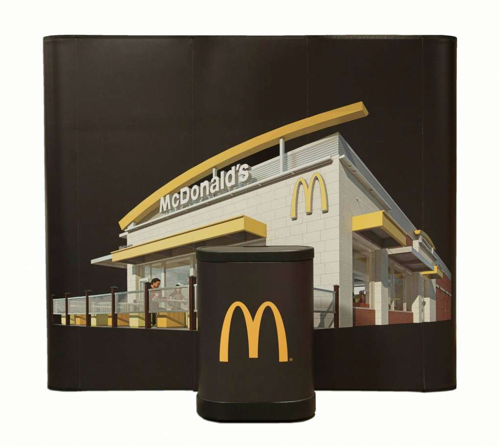 Pop-up Mc Donald Project